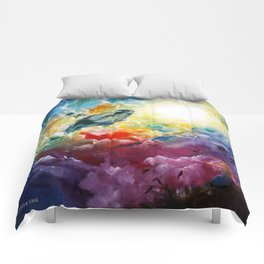 Majestic Whale Comforters
