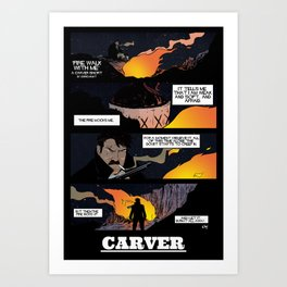CARVER: Fire Walk With Me Art Print