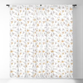 Salt Moth Geometric Pattern Blackout Curtain