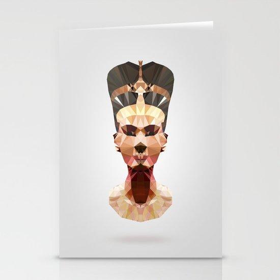 Polygon Heroes - Nefertiti Stationery Cards