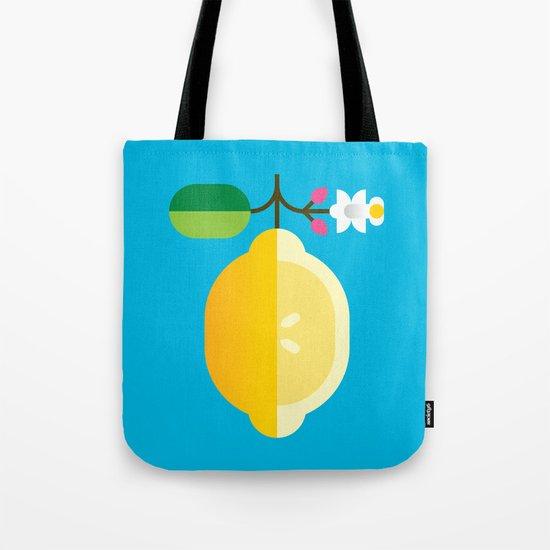 Fruit: Lemon Tote Bag