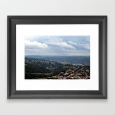 Pittsburgh Tour Series - View from University of Pittsburgh Framed Art Print
