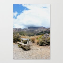 tongariro national park Canvas Print