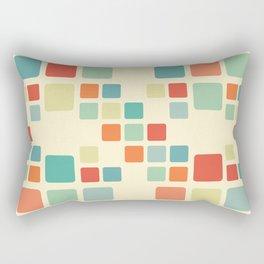Ode To Squares Rectangular Pillow