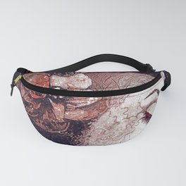 Obey Me: Blood (graffiti flower woman profile) Fanny Pack