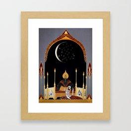 "Art Deco Exotic Design ""In the Casbah"" Framed Art Print"