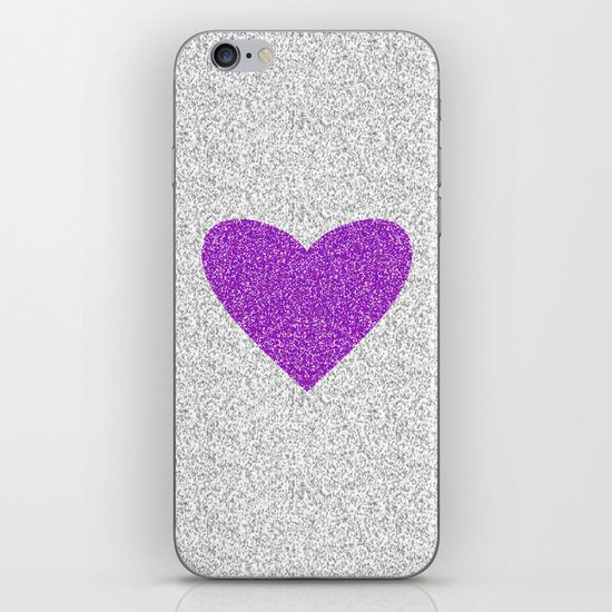 Purple Love iPhone & iPod Skin
