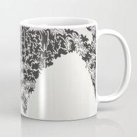 hustle Mugs featuring hustle. by malorrryink