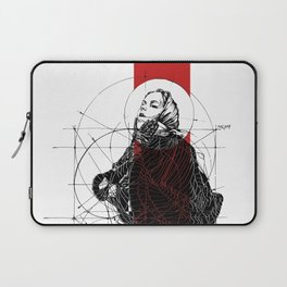 Red Lines. T. Golden Ratio. Baphomet. Yury Fadeev Laptop Sleeve
