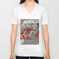 vans V-neck T-shirts featuring Vans and Color Magazine Customs by Matthew Billington
