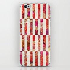 PINK FLORAL ORDER iPhone & iPod Skin