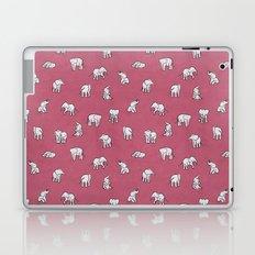 Indian Baby Elephants in Pink Laptop & iPad Skin