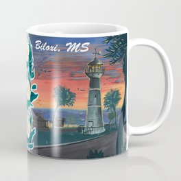 Biloxi Lighthouse 2 (Biloxi MS) Coffee Mug