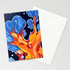 The magic tree Stationery Cards