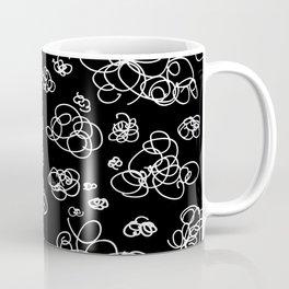 A Squiggle Sky Inverse Coffee Mug