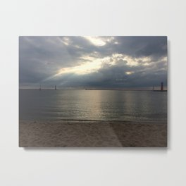 Muskegon- Calm After the Storm Metal Print