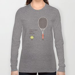 Angry ball Long Sleeve T-shirt