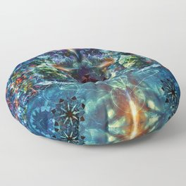 Mystery & Divinity Floor Pillow