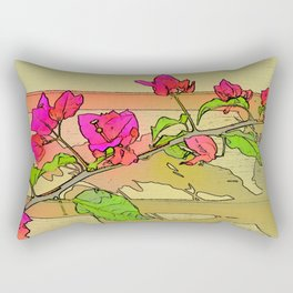 Bougainvilleas Rectangular Pillow