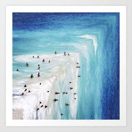 Aguas Art Print