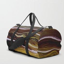 Motions 56, acrylic on canvas Duffle Bag
