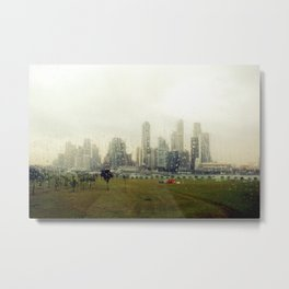 Made in Singapore #1 Metal Print