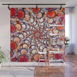 Medusa Curls Wall Mural