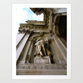 Upward (Venice, Italy) Art Print