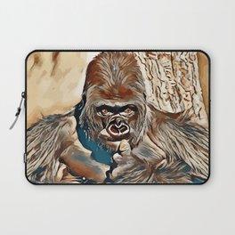 Thinking Gorilla Laptop Sleeve