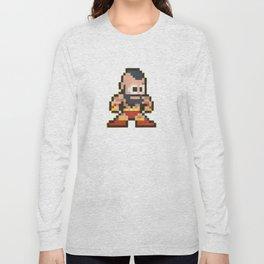 Zanglief 8 bit water color  Long Sleeve T-shirt
