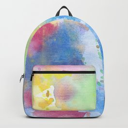 light watercolor Backpack