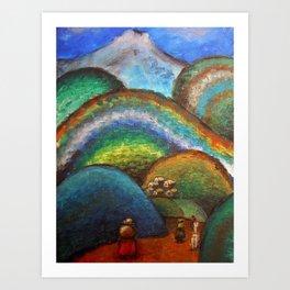 El Chimborazo Art Print