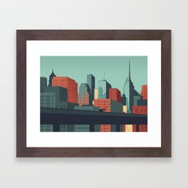 Urban Wildlife - Swordfish Framed Art Print