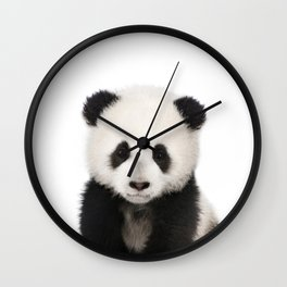 Panda Cub Wall Clock