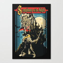 Symphony of the night Canvas Print