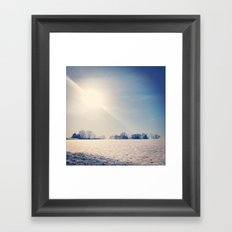 First Day of Spring Framed Art Print