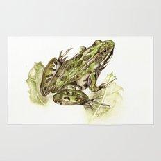 Northern Leopard Frog Rug