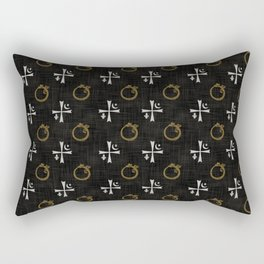 Vampires symbols Rectangular Pillow