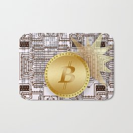 Bitcoin 14 Bath Mat