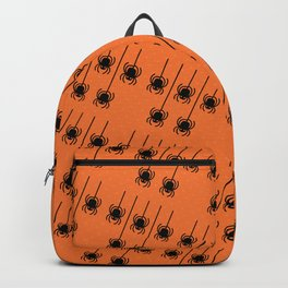 Spider Skulls Halloween Pattern Backpack