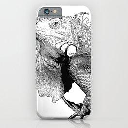 Iguanas (animals) iPhone Case