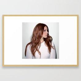 Lana Del Rey4 Framed Art Print
