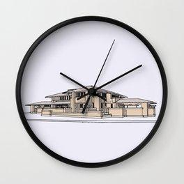 Darwin Martin House Wall Clock