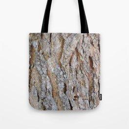 TEXTURES -- Big Cone Pine Bark Tote Bag