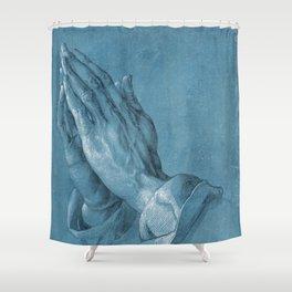 Praying Hands by Albrecht Dürer Shower Curtain
