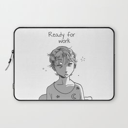 Ready for work 1 Laptop Sleeve