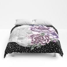 Moon Abloom II Comforters
