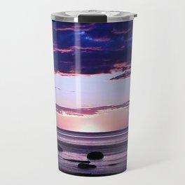 Coastal Sunset Sainte-Anne-Des-Monts Travel Mug