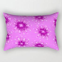 Lavender Christie Rose Rectangular Pillow