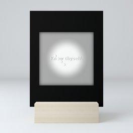 Know Thyself - Socrates Mini Art Print